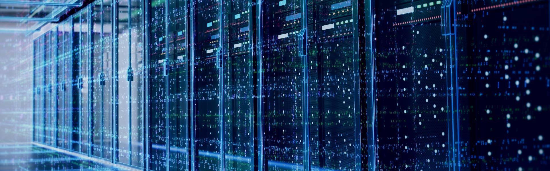 Serverraum Digitalisierung im Versicherungswesen